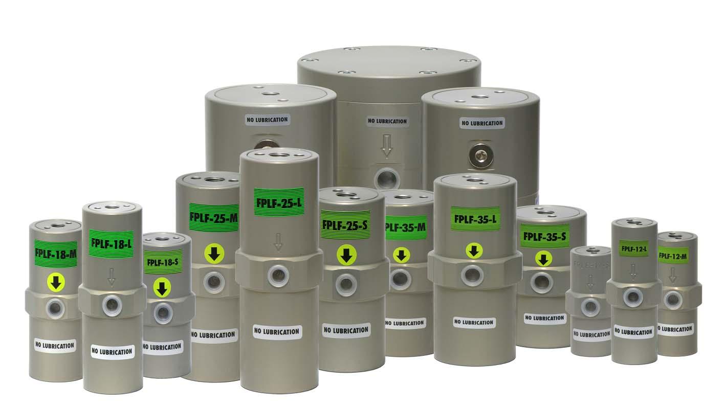 Ölfreie pneumatische Kolben-Vibratoren FPLF
