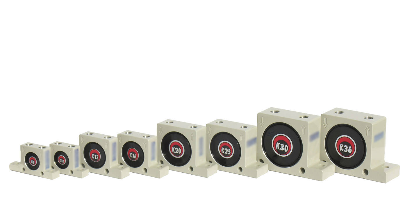 Druckluft-Kugelvibratoren K