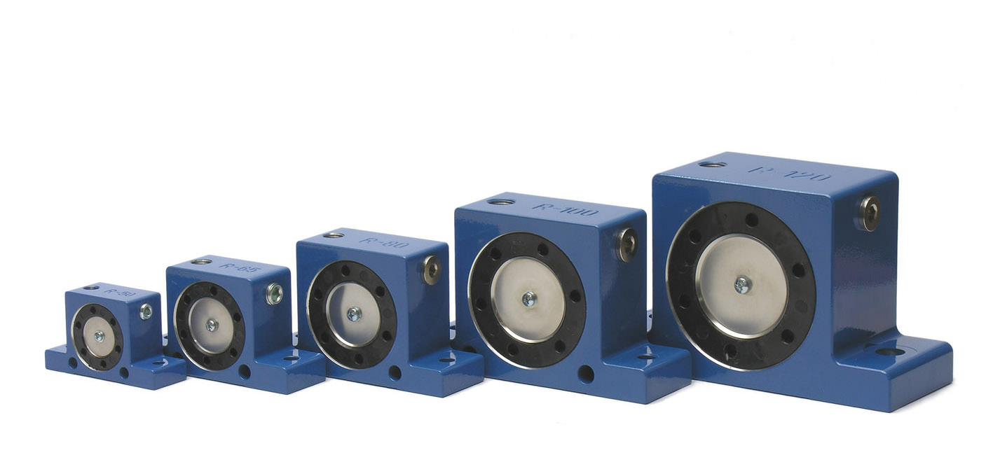 Druckluft-Rollenvibratoren R
