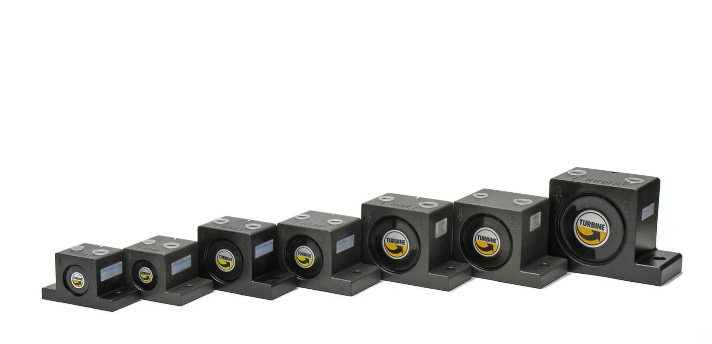 Pneumatische Turbinen-Vibratoren T